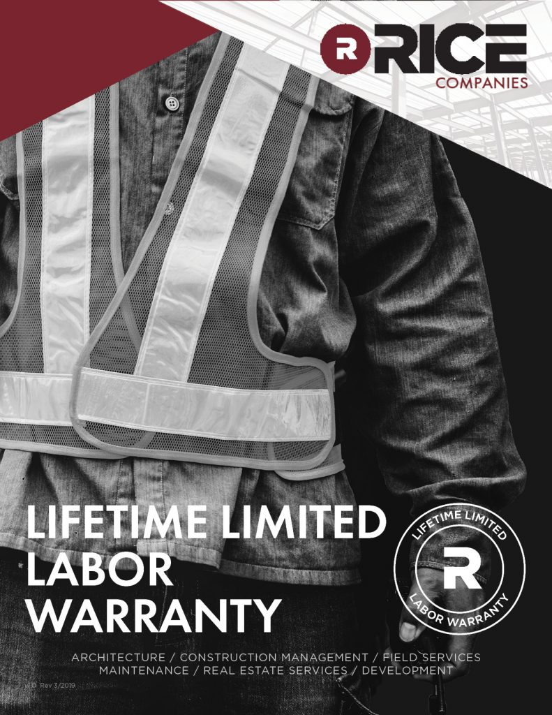 RCI Lifetime Warranty